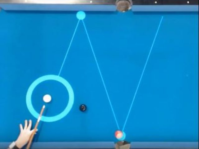 AR Projector System Acts Like A Billiards Coach