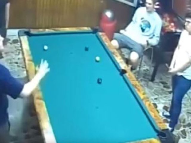 The Luckiest guy in billiards history