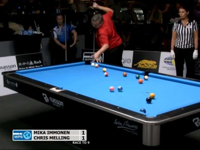 Chris Melling Unbelievable Run in 8 Ball